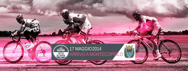 Arrivo Giro d'Italia Montecopiolo